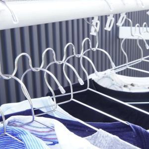 【100均】洗濯もの乾いてない問題解決♪ハンガー片より防止グッズが便利~!