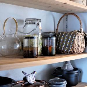 【パントリー収納】発酵食品コーナー&ダイソーの高見えガラス瓶追加♪