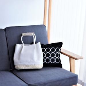 【3COINS】理想カラーの高見えハンドルカバー♪白いバッグの悩み解決~♪