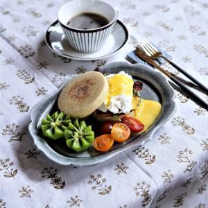 【手作りパン】エッグベネディクトでホテル朝食風のランチタイム♪