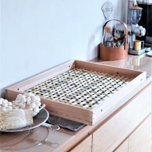 【梅仕事】丁寧な手仕事の美しい竹編みえびら♪台所仕事が楽しくなる道具♪