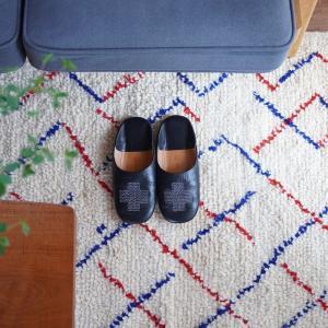 念願のベニワレン・アジラルラグ!モロッコの手織りウールの質感に感動♪
