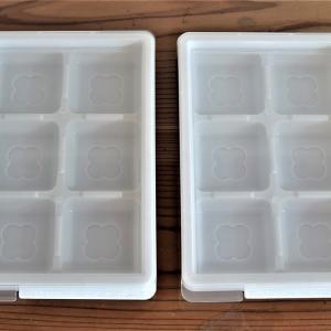 ひねってポン!ダイソーの小分け式キューブトレーで冷凍常備菜♪