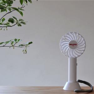 完売必至!?SPRING7月号付録の史上初ミルクフェド「ハンディ扇風機」が凄い!