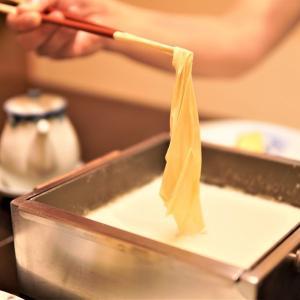 湯葉と豆腐専門店「梅の花」で引き上げ湯葉コースを堪能♪