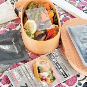 食中毒注意!!100均「お弁当シート」で夏のお弁当対策!