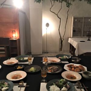 予約の取れない憧れの料理教室「at the table est 2015」初受講♪