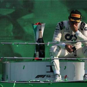 F1ファン待望の初優勝|イタリアGPで決めたピエール・ガスリー