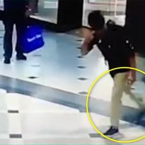 滑らかな動きで犯人逮捕に協力し、スッと立ち去るクールガイ