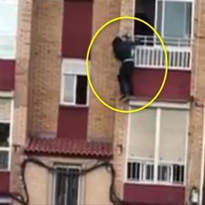 コロナ隔離施設から脱走を試みた男性、3階の窓から転落
