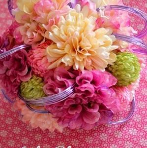 Bouquet 和装でフェミニン♪