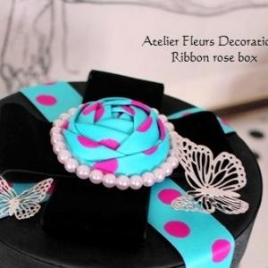Ribbon rose box