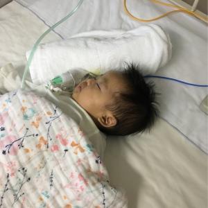 生後2ヶ月 RS肺炎 入院生活で乳児湿疹が!