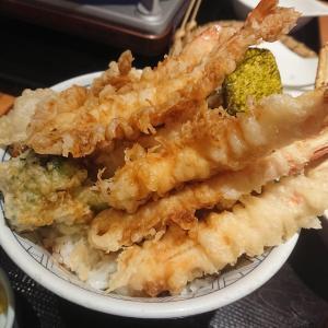和食さと(和食さとで勝手に『特盛天丼』を作ってみた!!)