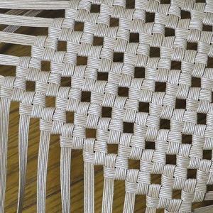 別のものだけど、同じ石畳編み