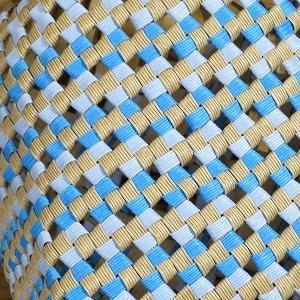 別のものだけど、同じ石畳編みのかご、できあがり