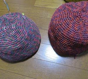 実は編み替えていました。