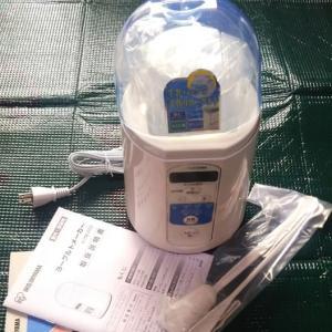 マウスの解凍用にヨーグルトメーカーが便利^^