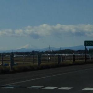 知らなかった、栃木県からでも富士山って見えるんですね@0@