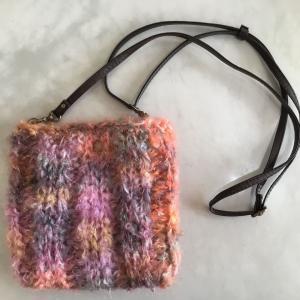 ゆび編み ポシェット(リッチモアシャトン2)