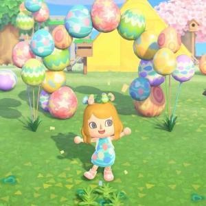 【あつ森】イースターエッグイベントが4月1日~4月12日に開催!イースターエッグを集めてDIY限定家具を作ろう!