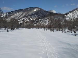 雪上散歩と雪洞