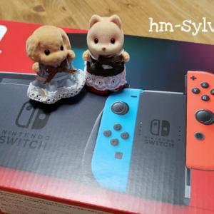ついに我が家にも任天堂Switchがやってきた!!