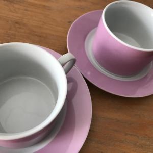 100捨てチャレンジ2〜コーヒーカップとソーサー