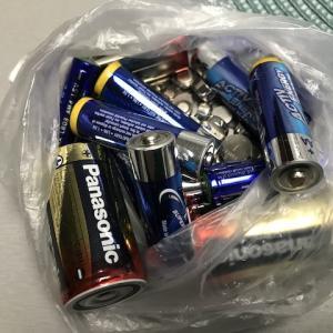 100捨てチャレンジ32〜電池、ボタン電池