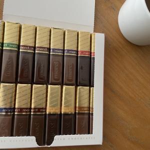 merciのアソートチョコレート、30年間安定の楽しさ