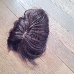 白髪、薄毛、もう面倒なら部分ウイッグにすれば良いと思います!!