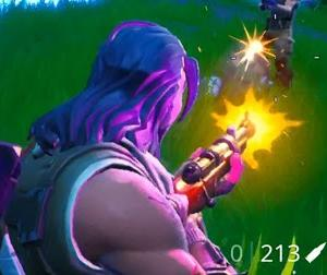 【Fortnite】敵の弾が奇跡的に当たらないワンショット【ゲーム動画】