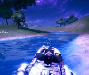 【Fortnite】モーターボート爆走【ゲーム動画】