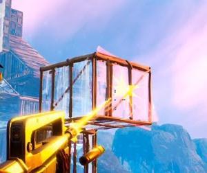 【Fortnite】嵐の中でのHP消耗戦・・・迄行けず【ゲーム動画】