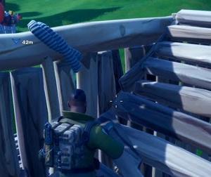 【Fortnite】嵐の中で特攻仕掛けて来た猛者【ゲーム動画】