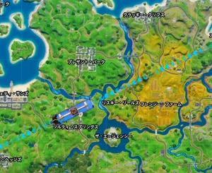 【Fortnite】新台風の行動パターン【ゲーム動画】