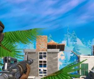 【Fortnite】敵の猛攻撃に耐えてからの逃げ切り【ゲーム動画】