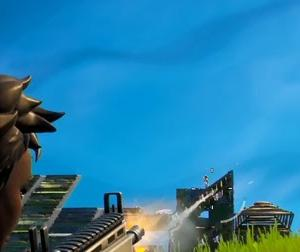 【Fortnite】僅差の位置取りが勝敗を分けた回【ゲーム動画】