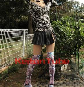 【ファッション】いいニーハイの日を美少女の泣き顔で祝う【絶対領域】