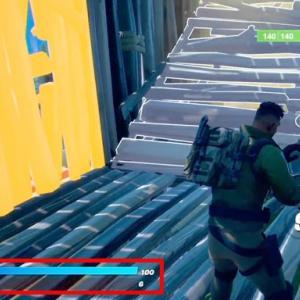 【Fortnite】残り3人から敵が連続落下死【ゲーム動画】