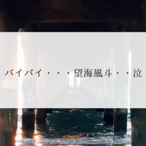 バイバイ・・・望海風斗・・泣