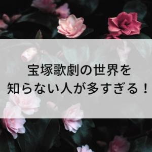 宝塚歌劇の世界を知らない人が多すぎる!