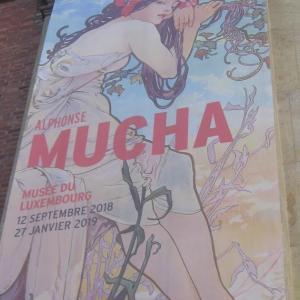 ミュシャ展・チェコの至宝をパリで鑑賞。