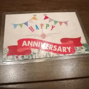 ワンカルビで誕生日特典をお願いしました