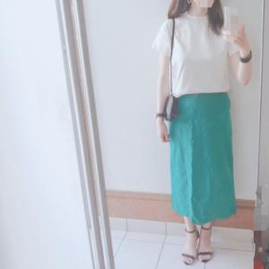 一目ぼれスカートとGUの最愛アイテム♪
