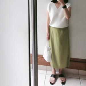 【UNIQLO】綺麗目にも使える♪500円の半袖ニットと久々のお天気