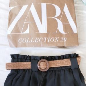 【ZARA】ベルト付きで大満足なセール品と福袋購入