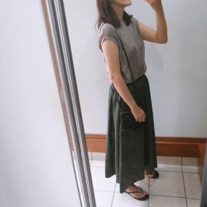 【GU】今から使えるロングスカートと無印良品