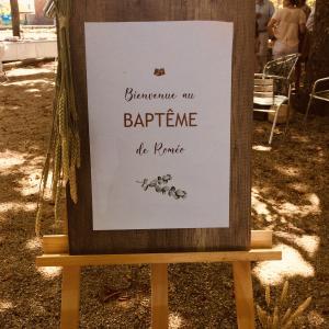 フランスとカトリック宗教 バテム ♢Bateme♢ 赤ちゃん洗礼式パーティー