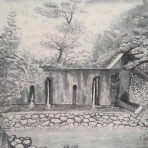 国頭村田嘉里の砂防ダム